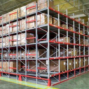 Разные склады и стеллажи