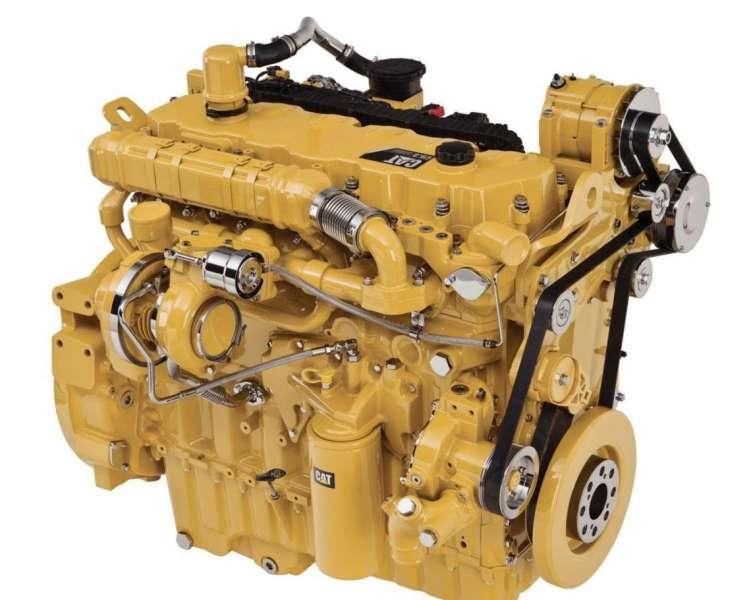 Дизельный двигатель погрузчика
